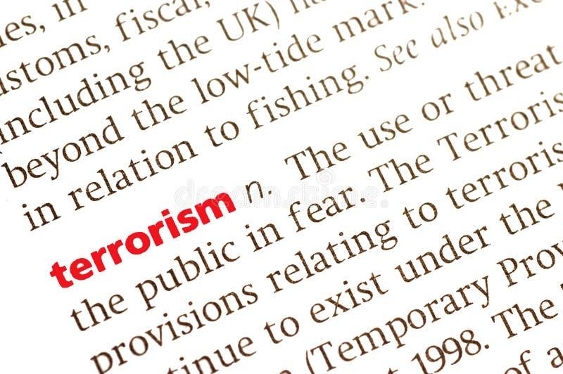 Il terrorismo immagine stock