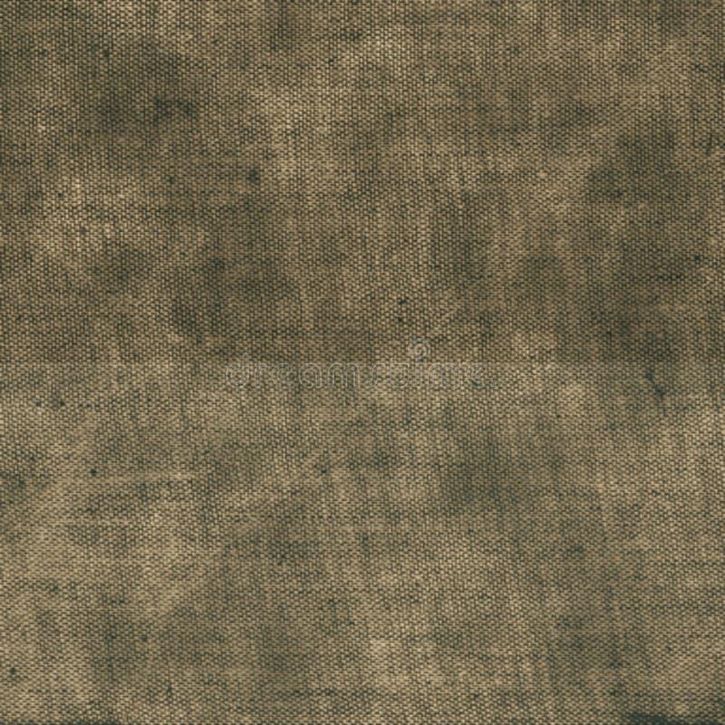 Il tessuto ha graffiato il fondo beige rurale sudicio granulare di struttura illustrazione di stock