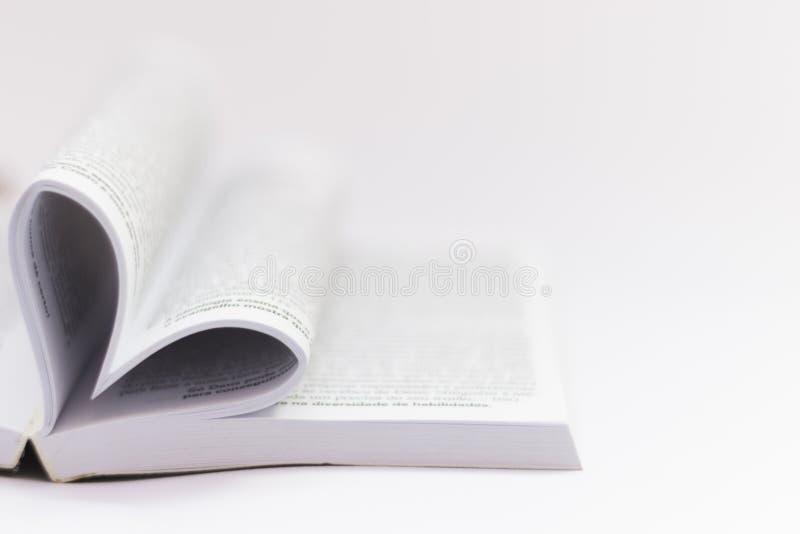 Il testo del libro proviene dalla bibbia fotografie stock libere da diritti