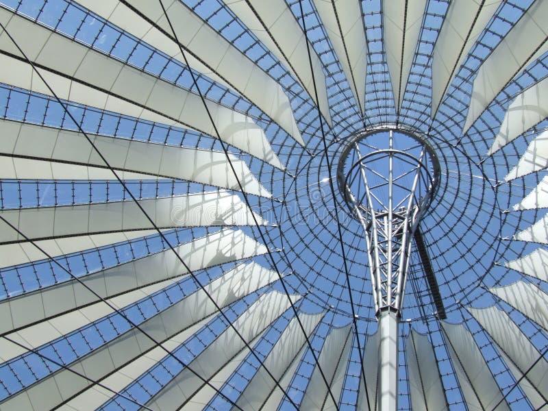 Il tetto del SONY-Centro immagini stock
