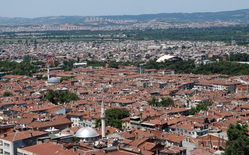 Il tetto di Bursa. fotografia stock