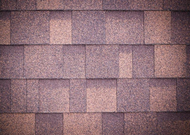 Il tetto di marrone copre il fondo e la struttura vignette fotografia stock