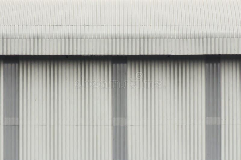 Il tetto e la parete immagine stock