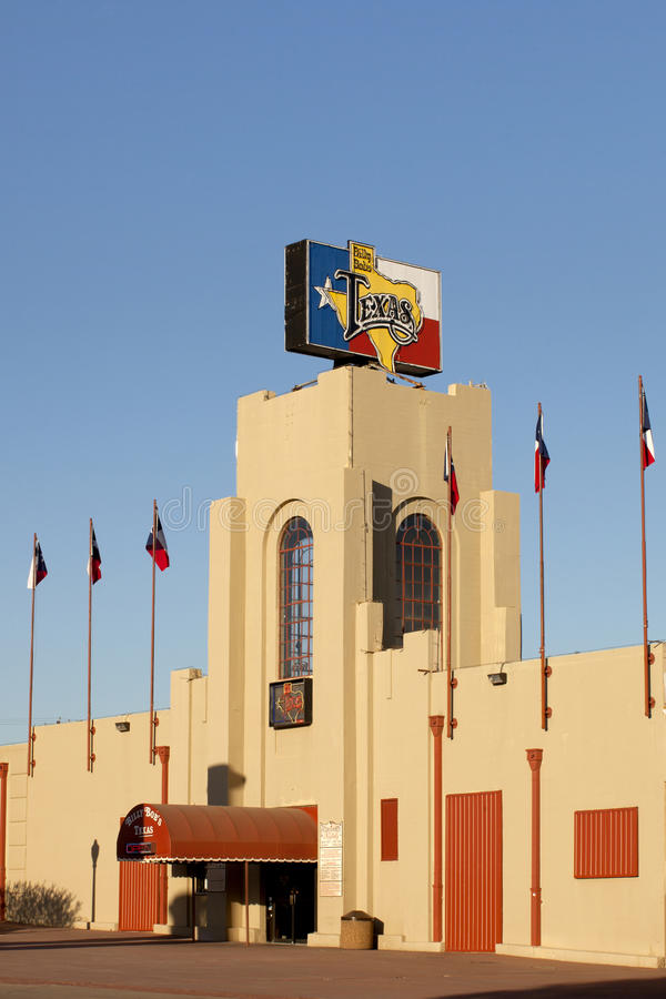 Il Texas di Billy Bob - Fort Worth, il Texas fotografia stock