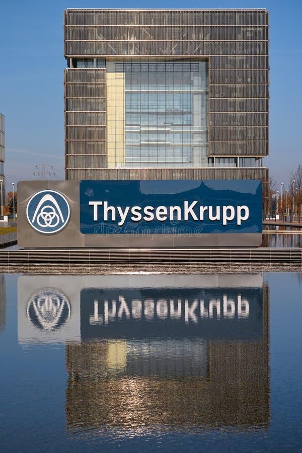 Il ThyssenKrupp fotografie stock