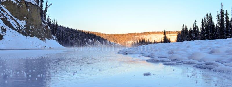 Il tocco di Jack Frost fotografie stock