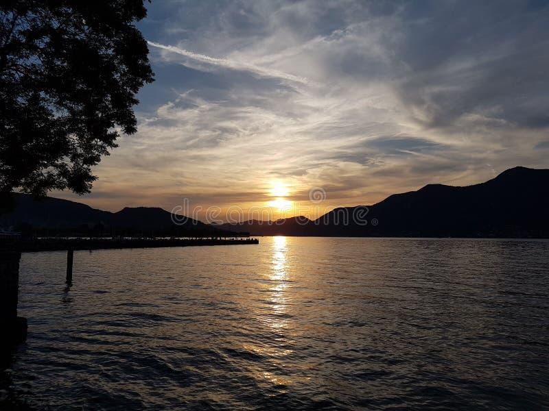 Il tramonto zdjęcia royalty free