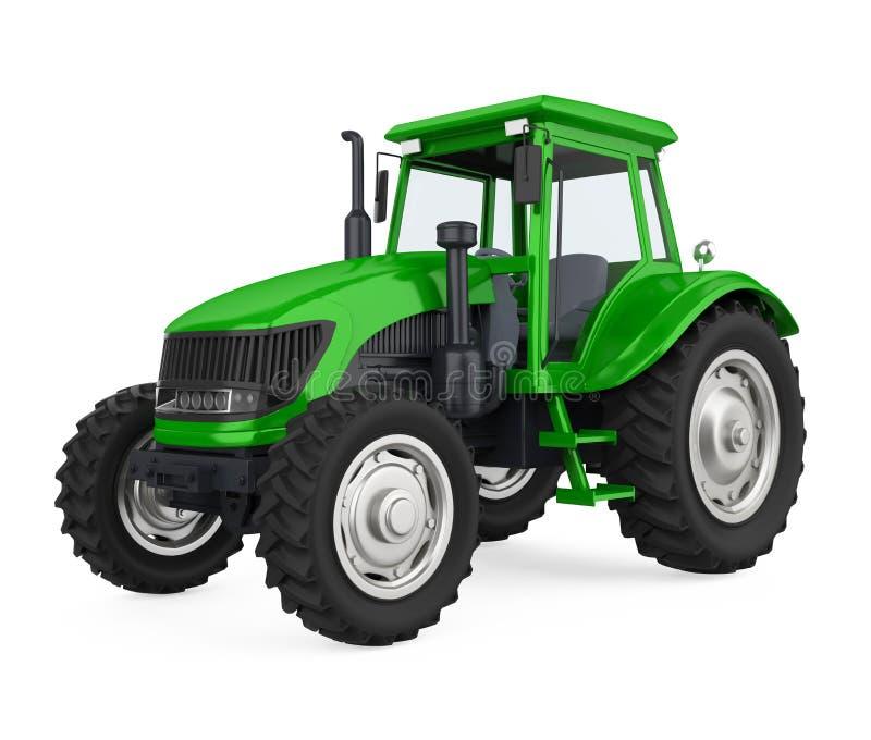 Il trattore dell'agricoltura ha isolato illustrazione di stock