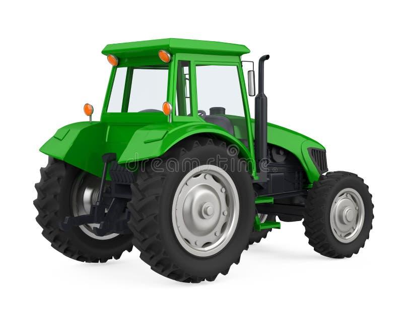 Il trattore dell'agricoltura ha isolato illustrazione vettoriale