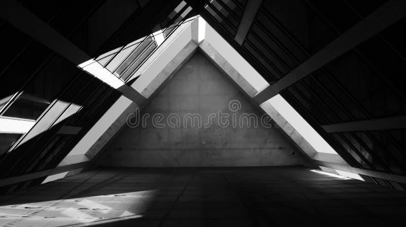 Il triangolo lungo immagini stock