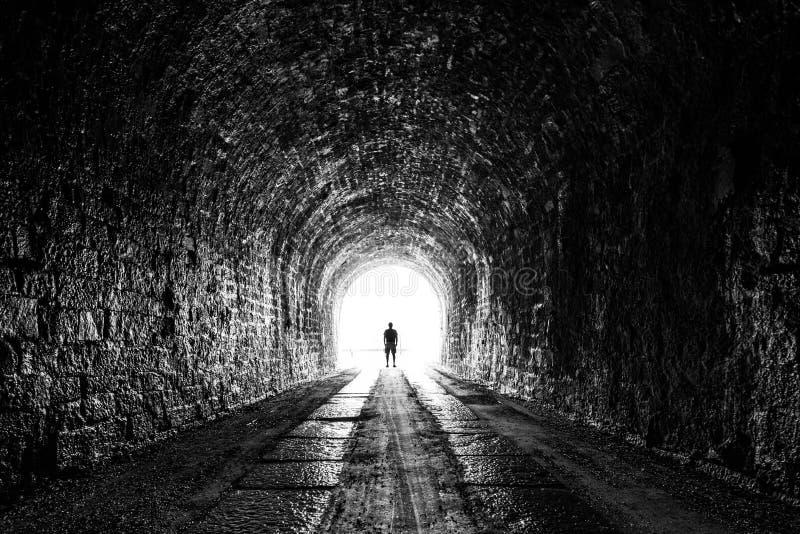 Il tunnel fotografia stock