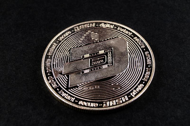 Il un poco ? un modo moderno dello scambio e questa valuta cripto ? mezzi di pagamento convenienti nel finanziario immagini stock libere da diritti
