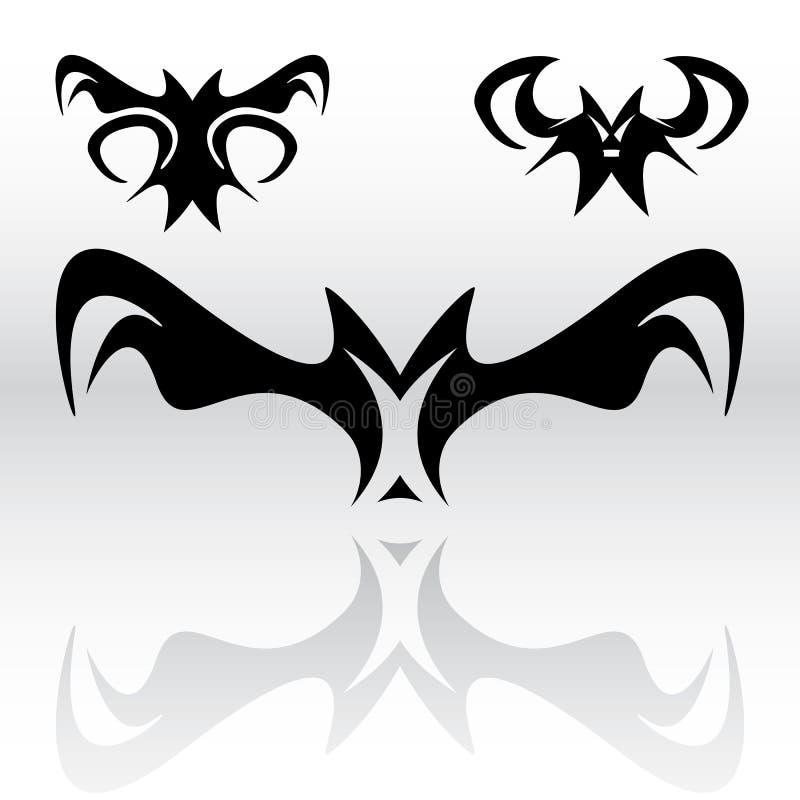 Il vampiro batte Clipart royalty illustrazione gratis