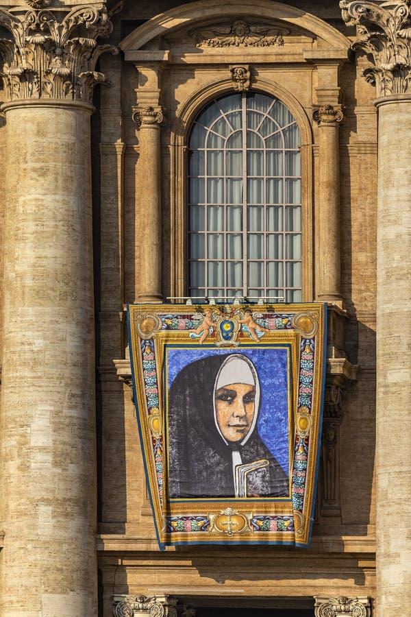 Il Vaticano, la basilica di St Peter, l'immagine della madre Catherine Kasper fotografia stock libera da diritti