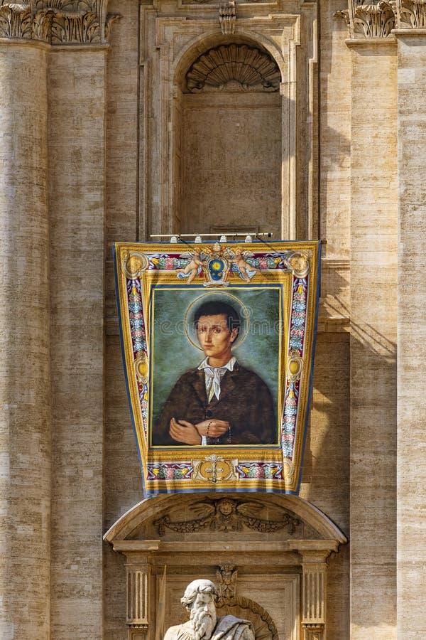 Il Vaticano, la basilica di St Peter, l'immagine di Nunzio Sulprizio immagini stock libere da diritti