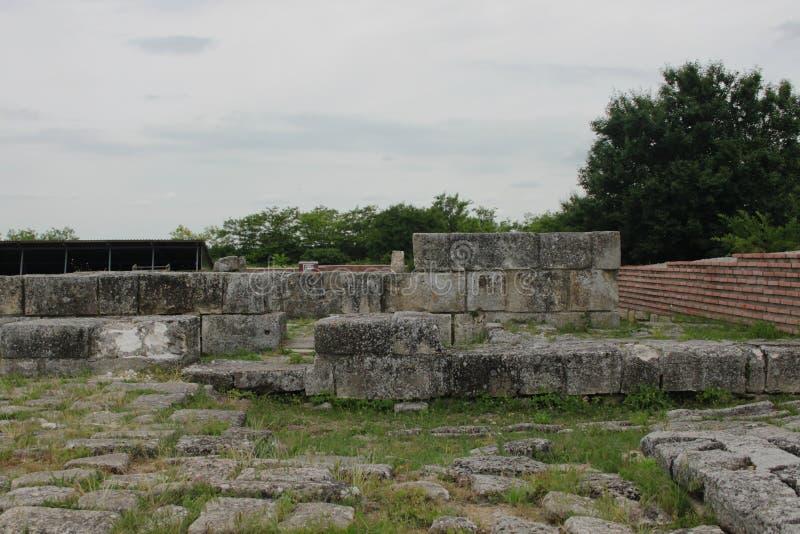 Il vecchio capitale della Bulgaria immagini stock libere da diritti