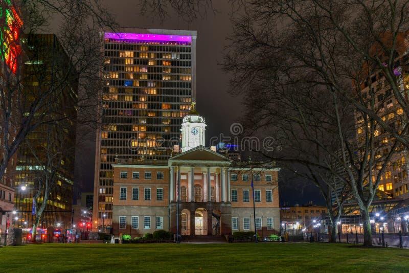 Il Vecchio Edificio Statale - Hartford, Connecticut fotografia stock libera da diritti
