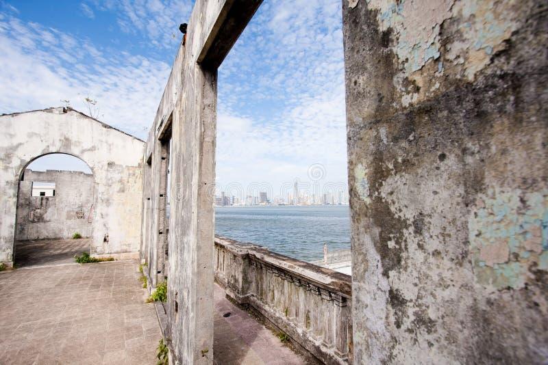 Il vecchio Panama fotografie stock