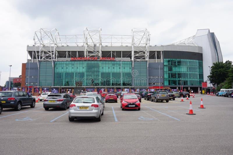 Il vecchio stadio di Trafford di Manchester United fotografia stock libera da diritti