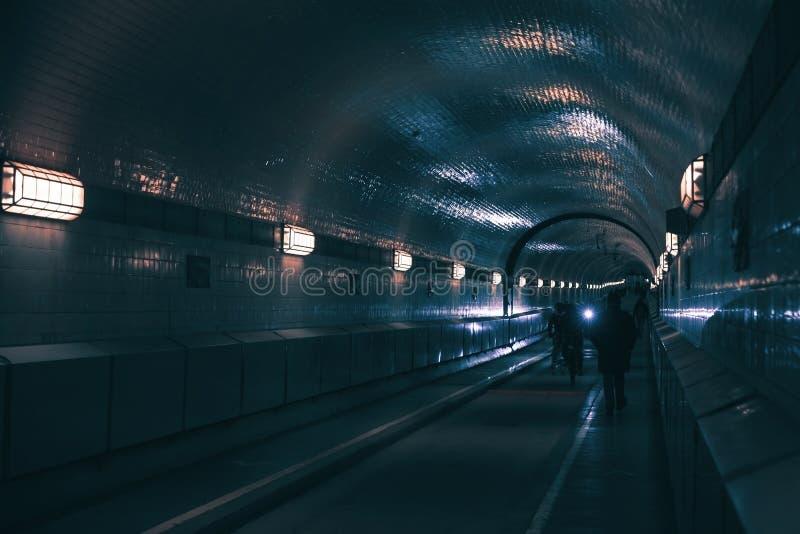 Il vecchio tunnel di Elba si è aperto nel 1911 fotografie stock libere da diritti