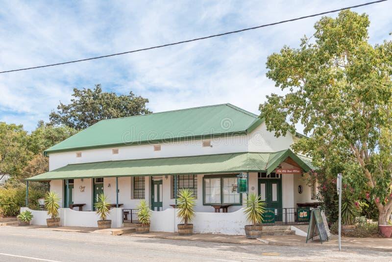 Il vecchio ufficio postale, un ristorante in McGregor immagini stock
