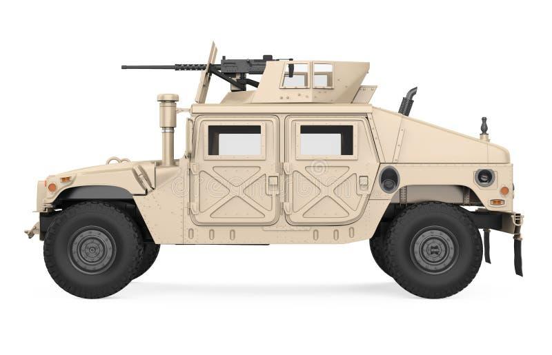 Il veicolo a ruote multiuso di alta mobilit? di Humvee ha isolato royalty illustrazione gratis