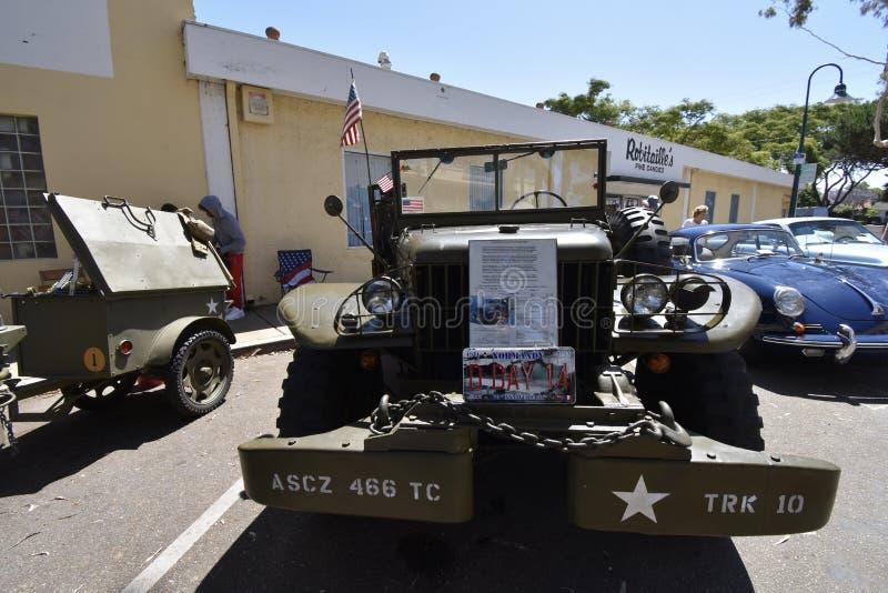 Il veicolo utilitario militare del WC di 1944 Dodge, 1 fotografie stock
