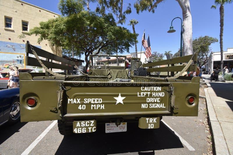 Il veicolo utilitario militare del WC di 1944 Dodge, 3 fotografia stock libera da diritti