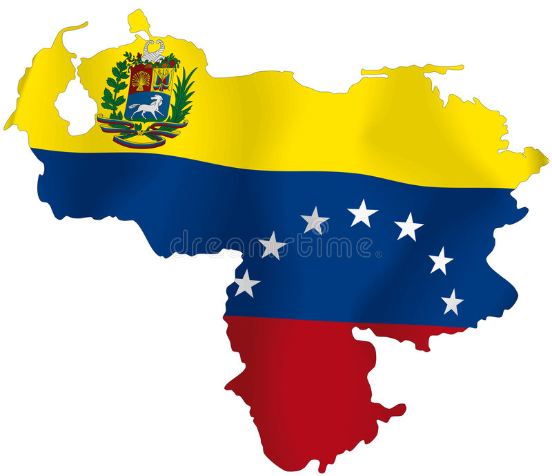 Il Venezuela royalty illustrazione gratis