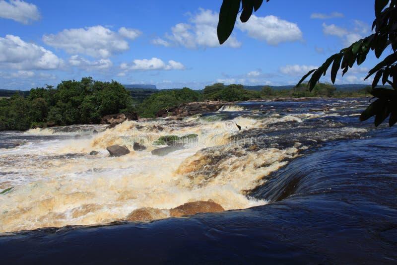 Il Venezuela Angel Falls Canyon fotografie stock libere da diritti
