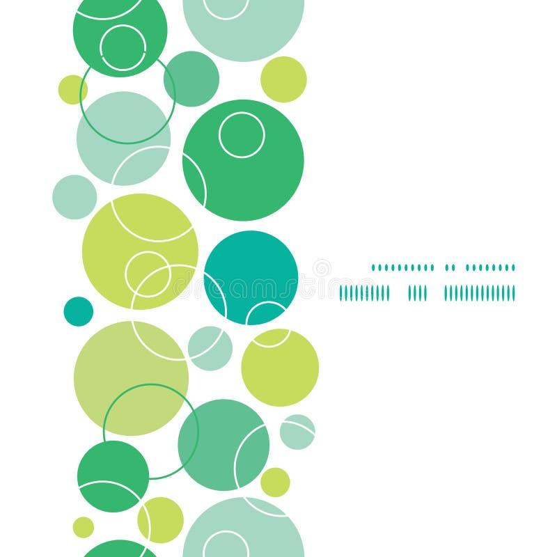 Il verde astratto di vettore circonda la struttura verticale royalty illustrazione gratis