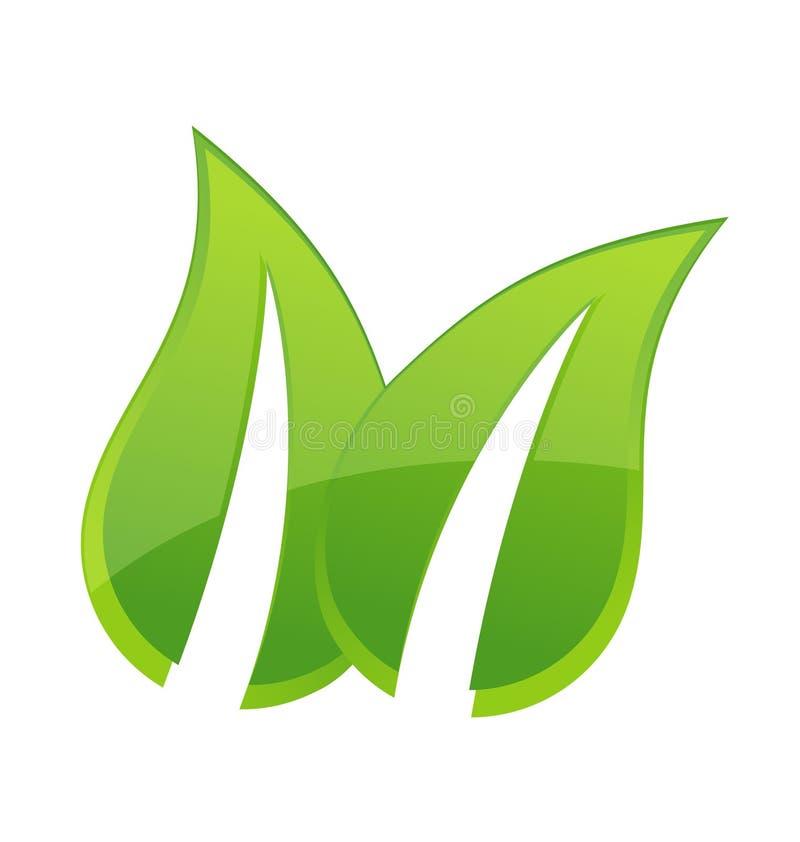 Il verde frondeggia icona royalty illustrazione gratis