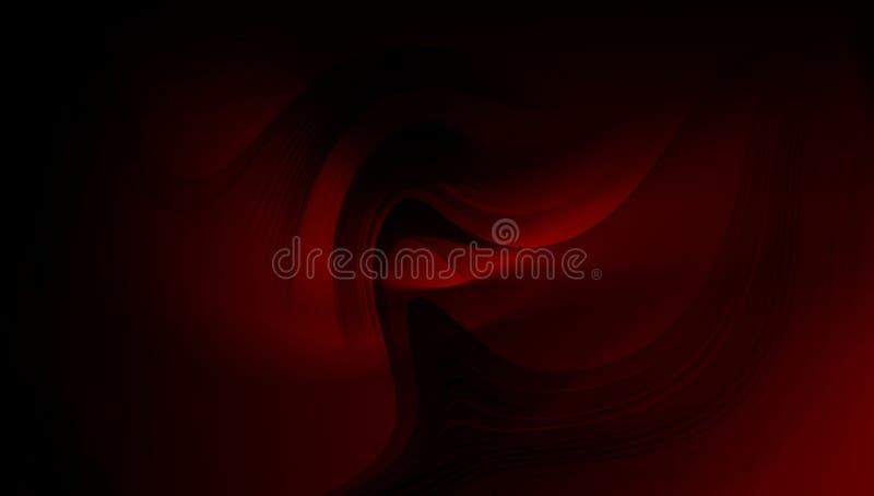 Il vettore del fondo dell'estratto della sfuocatura del nero e di rosso progetta, fondo protetto vago variopinto, illustrazione v illustrazione vettoriale