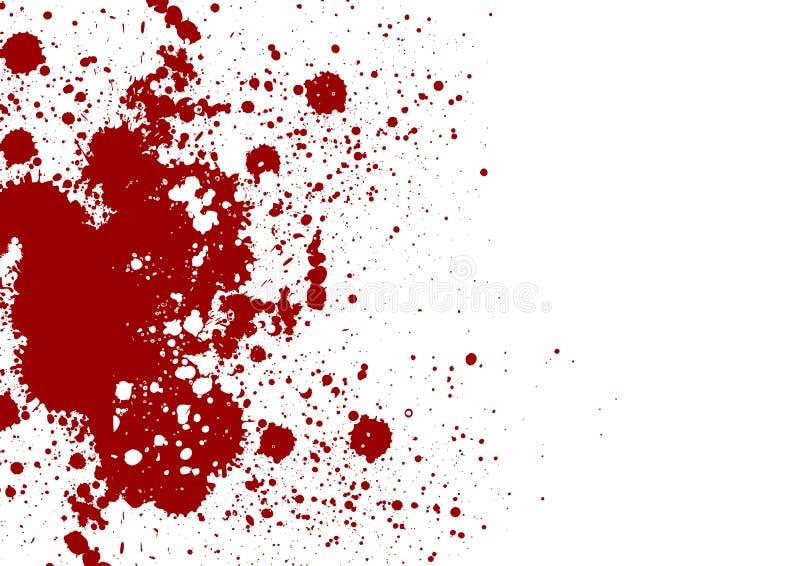 Il vettore schizza il fondo di colore rosso Illustrazione di vettore Grung royalty illustrazione gratis