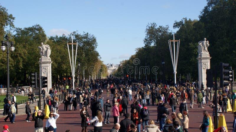Il viale, Londra immagine stock libera da diritti