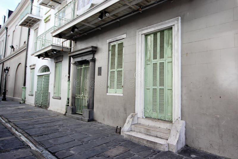 Il vicolo del pirata, New Orleans immagini stock