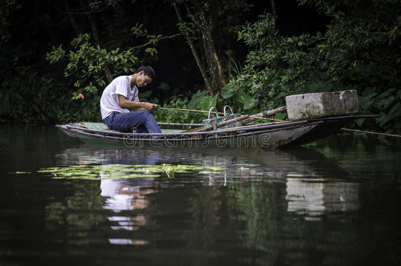 Il Vietnam di lavoro immagini stock libere da diritti