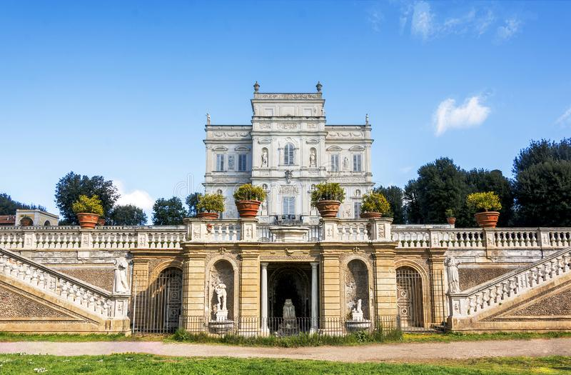 Il villa Doria Pamphili à Rome, Italie photos stock
