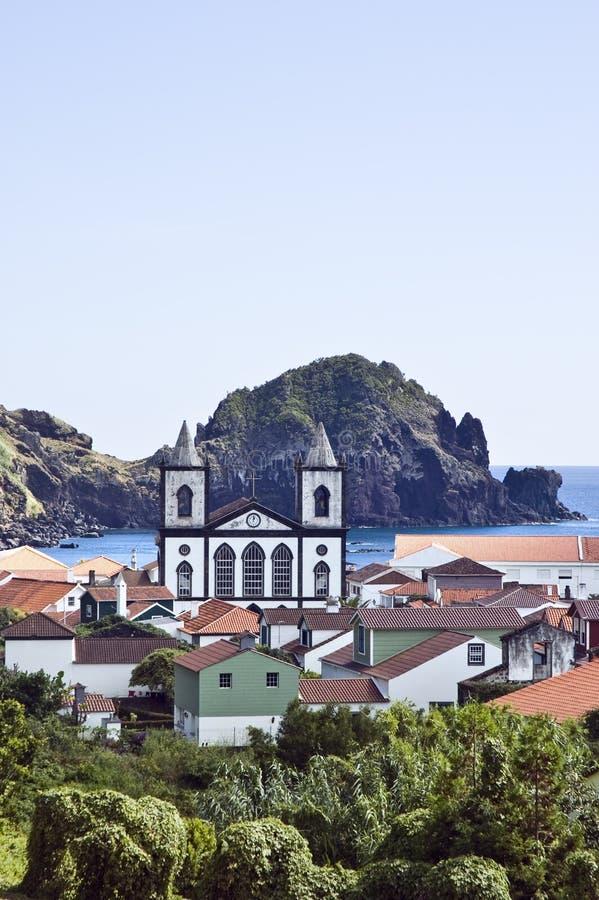 Il villaggio di Lages fa Pico, Azzorre immagini stock libere da diritti
