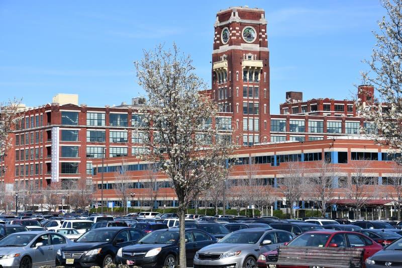 Il vincitore: Sottotetti di lusso di lungomare a Camden, New Jersey immagini stock libere da diritti