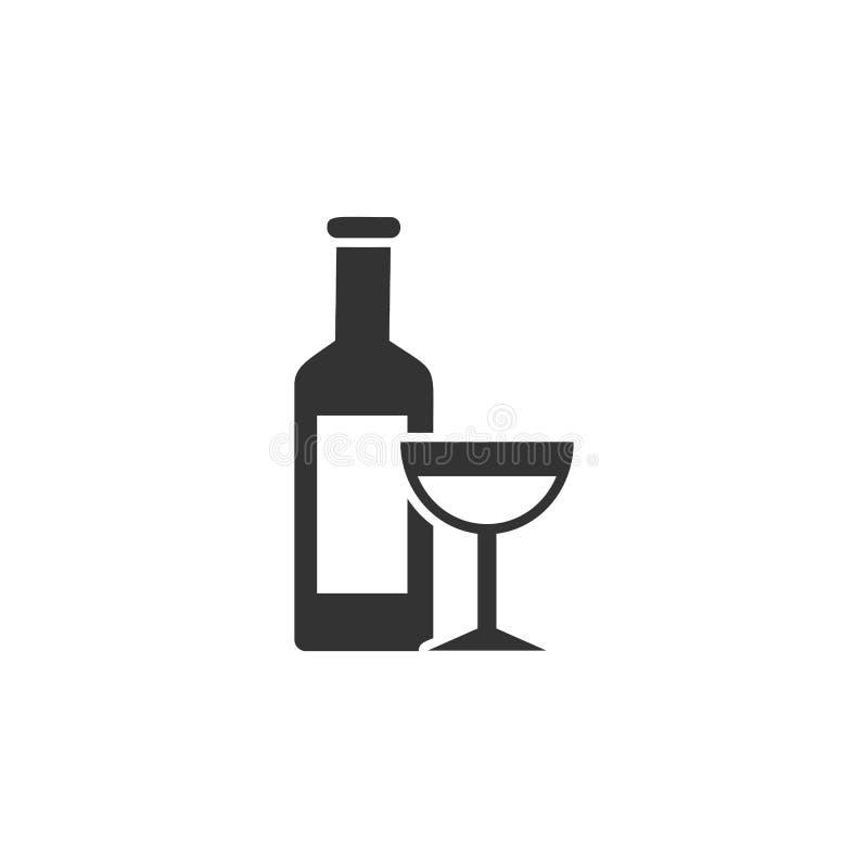 Il vino, icona di pasqua può essere usato per il web, logo, app mobile, UI, UX royalty illustrazione gratis