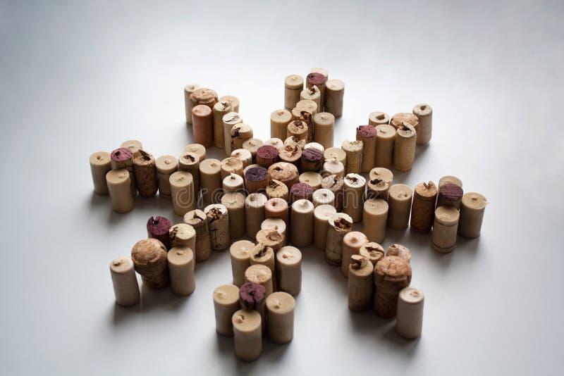 Il vino tappa la siluetta della rosa dei venti fotografie stock