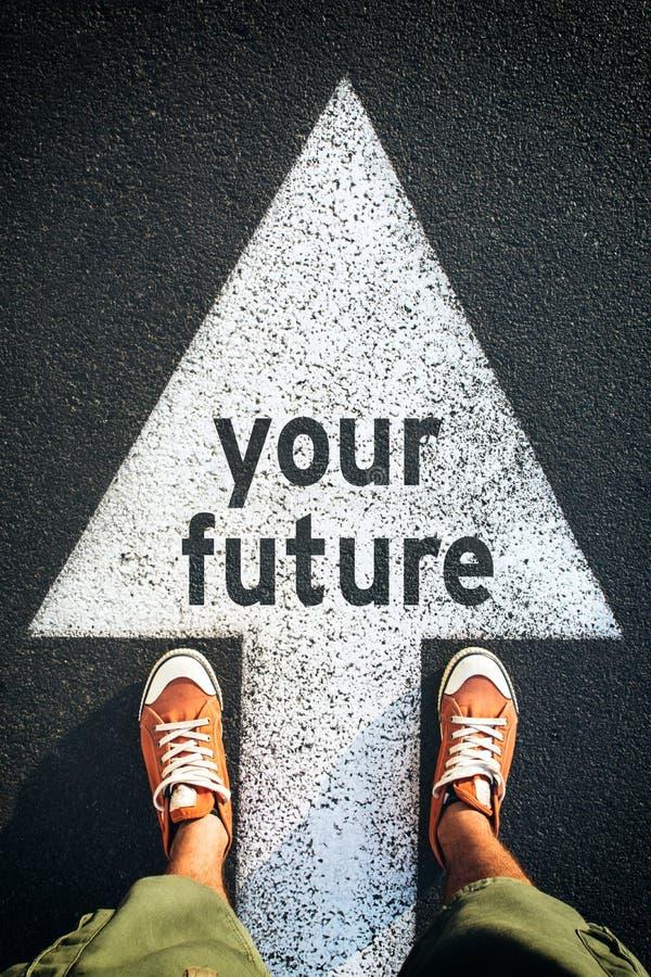 Il vostro futuro fotografia stock libera da diritti
