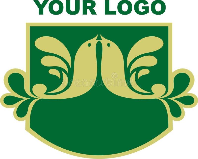 Il vostro marchio dell'azienda illustrazione vettoriale