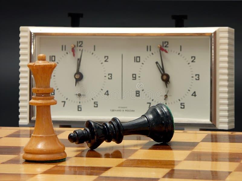 Il vostro tempo è sopra - vinco immagine stock
