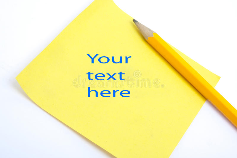 Il vostro testo qui immagini stock