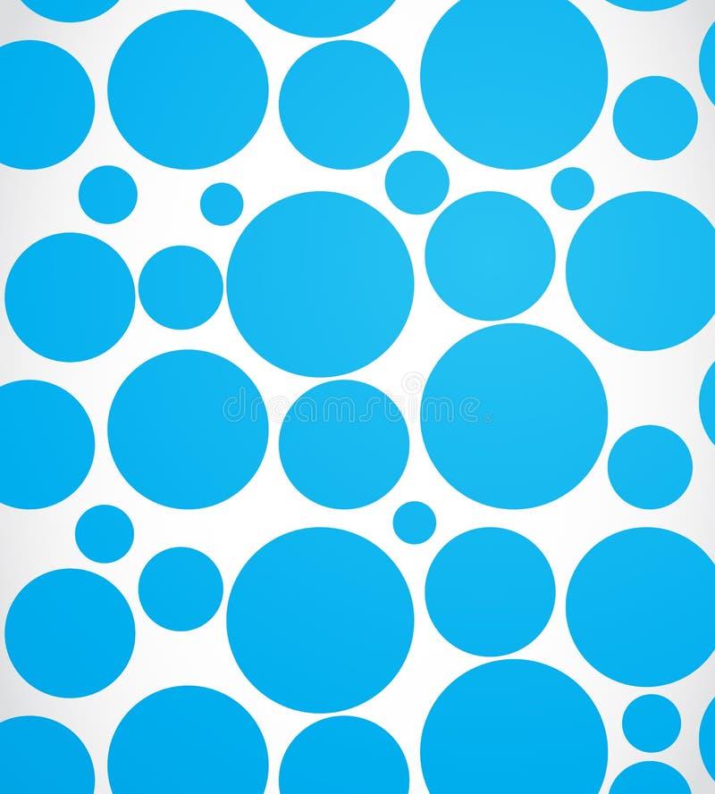 Il Web blu circonda il fondo illustrazione vettoriale