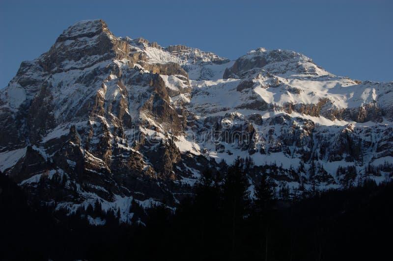 Il Wildstrubel vigoroso in Svizzera fotografia stock