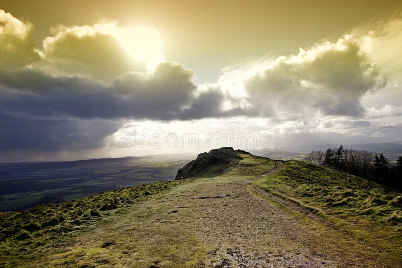 Il Wrekin fotografia stock