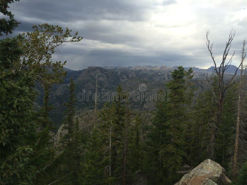 Il Wyoming prima della tempesta immagine stock libera da diritti